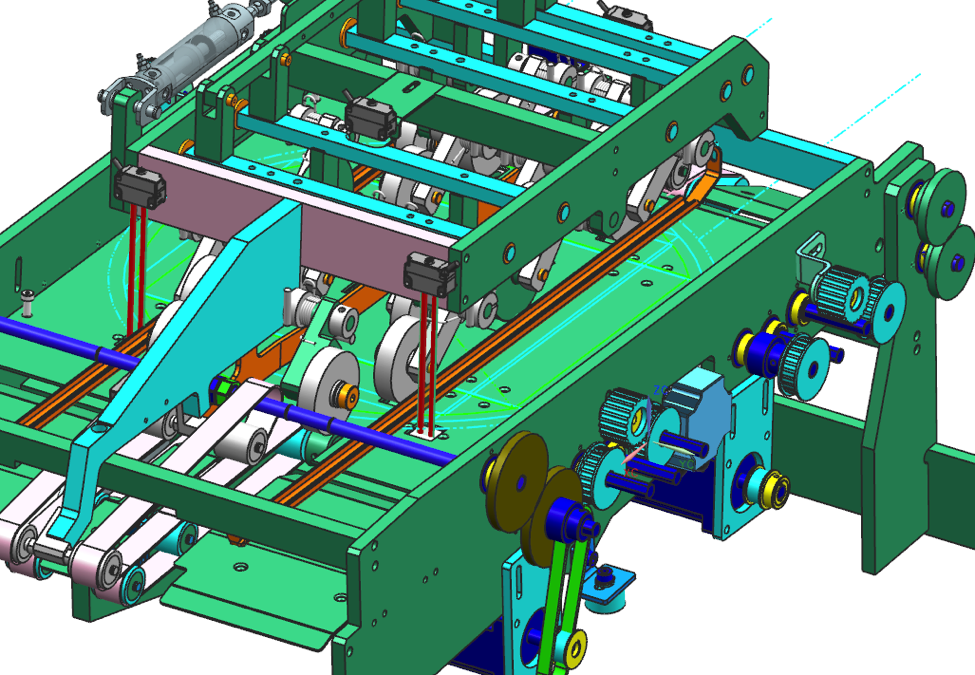 The 4920 Format Turn Module for the Ascender 16 Inserting System