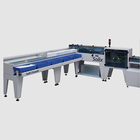 State-of-the-Art Mail Tray Loader Moves Paper at 150 Inches per Second
